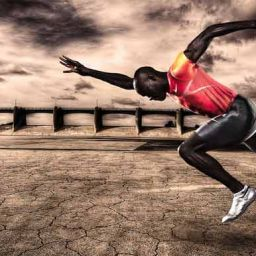 Athlete Training To Be A Fine Tuned Athlete