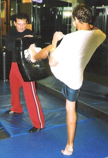 Teen Athlete Training by Personal Trainer