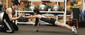 Train like an athlete Push-up-Punch