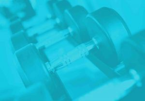 Dumbbell Rack Blue Color For Background Image