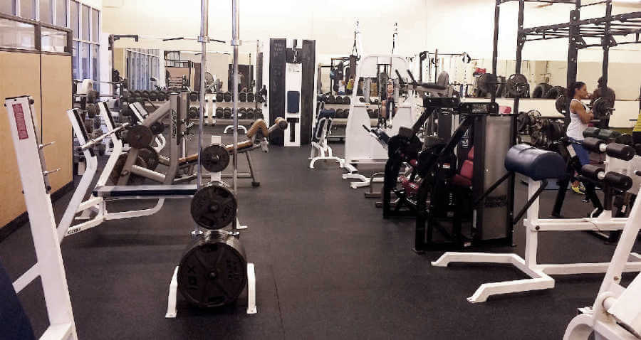 Strength Training Personal Trainer Gym Equipment