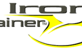 Iron Trainer Logo Yellow and black with shadow