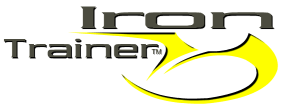 Iron Trainer Logo Yellow and black with shadow for retina