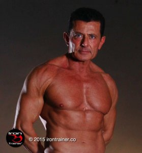 Las Vegas Personal Trainer The Iron Trainer Don Niam photo of upper body with arms folded behind back