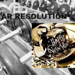 New Year Fitness Training Resolution