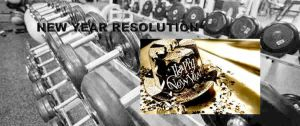 New Year Fitness Training Resolution
