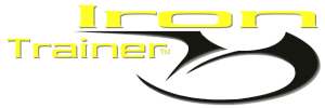 retina logo letters iron trainer with hook shape