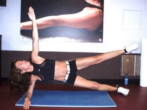 Abductor plank exercise