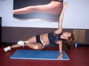 side plank workout at Las Vegas Athletic Clubs