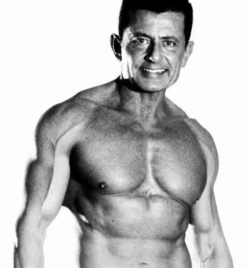 upper body image of personal trainer without a shirt