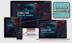 All Device Image of Website Screenshot Personal Trainer Internet Marketing by Digi Dezine Web Design Company