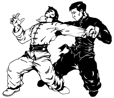 sketch of Kung Fu Leg Sweep