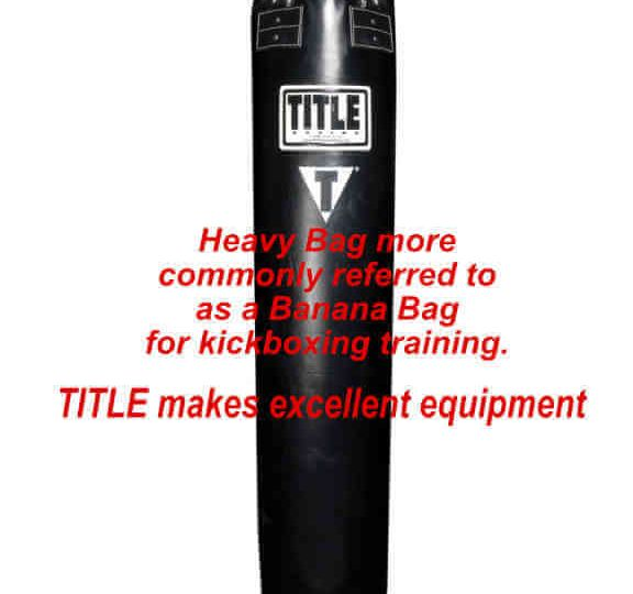 heavy bag 6 feet long made by title